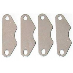 Placas metalicas freno, HNG-06