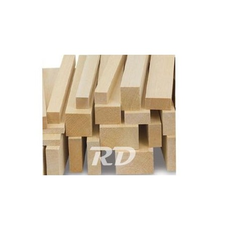 Madera de balsa liston 6x6mm. MI26091801