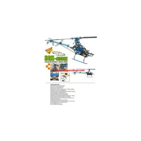 Helicoptero TEXModel, TX3DX450SE