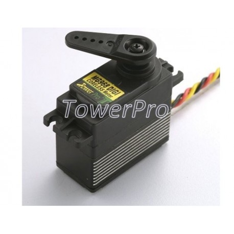 Servo Digital MG968 Tower Pro Titanio 22Kg.
