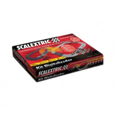 KIT DIGITALIZACION PISTAS SCALEXTRIC D10086S100