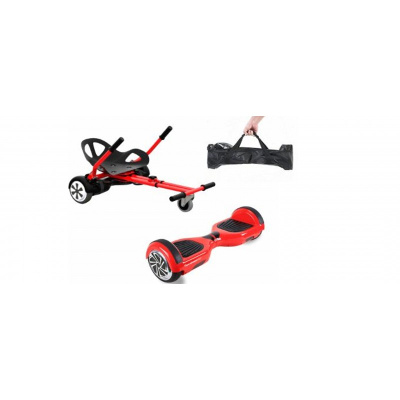 Set Hoverboard, Smart Balance + Hover Car + Bolso transporte