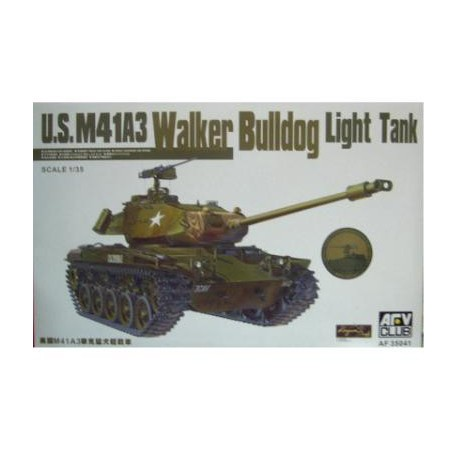 U.S M41A3 Walker Bulldog Light Tank